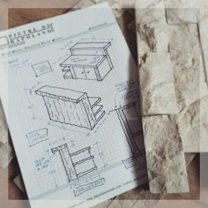 progetti e disegni architettura pietre di rapolano arredobagno