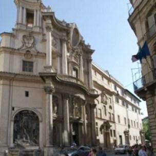 chiesa di san carlo alle quattro fontane architetto borromini roma