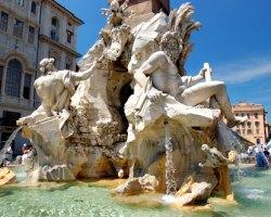 Piazza Navona (Roma) - Bernini's Fountain: Piazza Navona (Rome)