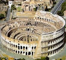 Travertino, Travertine: Il Colosseo, The Colosseum