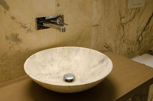 Bagni in travertino a firenze italystonemarble