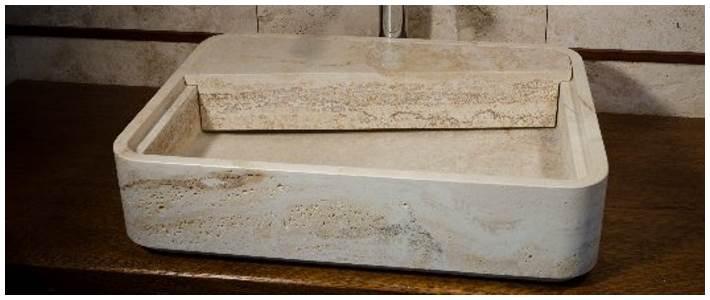 Lavabi bagno in pietra idfdesign