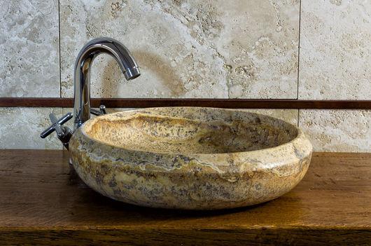 Lavabi in travertino nuovi modelli - Lavabo in pietra per bagno ...