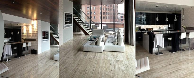 Zebra terra chiara - pavimenti e rivestimenti - New York - interni - arredamento