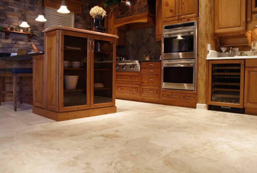 Usare le pietre naturali in cucina - Pavimenti x cucina ...