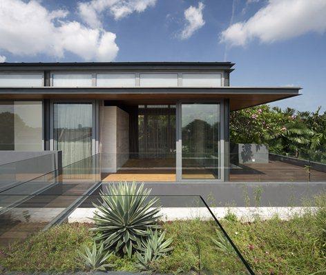 tetto con giardino pensile