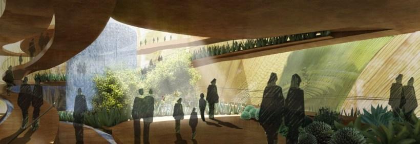 interno rendering padiglione messico mexico pavillion expo 2015 milano milan