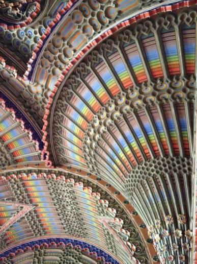 Castello di Sammezzano - Particolare soffitto