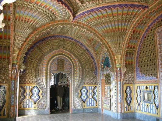 Castello di Sammezzano - Sala dei pavoni