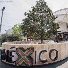 mexico pavilion expo 2015 milan corn travertine floors