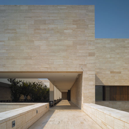 liangzhu-culture-museum david chipperfield travertino museo
