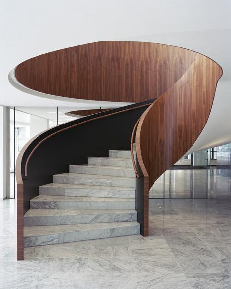 scala elica marmo legno uffici rotterdam architetti powerhouse company