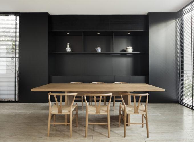 sala pranzo cucina per ricevere pavimenti in travertino