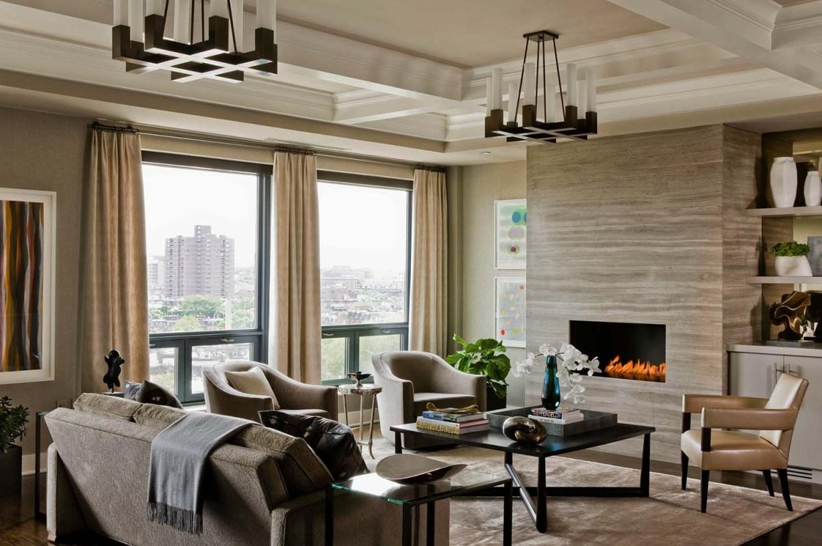 Interni Case Di Lusso Foto interni di lusso in appartamento nel centro di boston