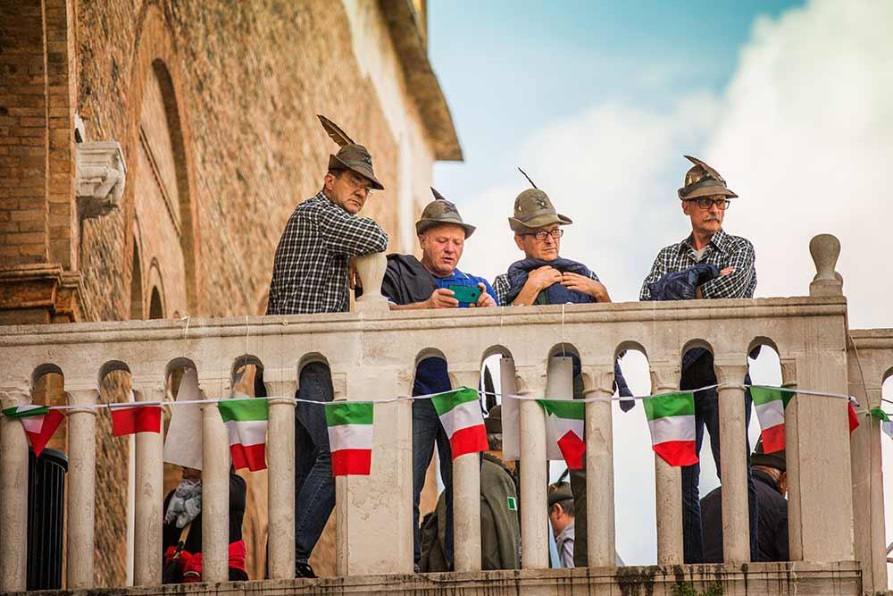 Viva gli Alpini!, Treviso