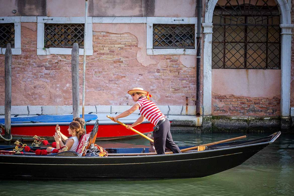 Woman gondolier, ItalyWise