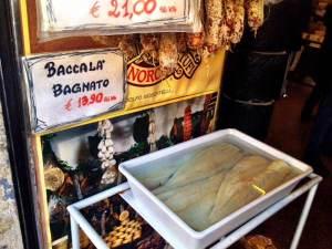 Baccala - Another staple in la cucina Romana