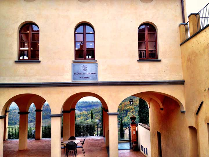 "The school of Cucinelli in Solomeo - And inspiration to investing in the local community and ""giving back""."