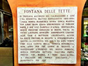 History of Fontana delle tette, Italywise