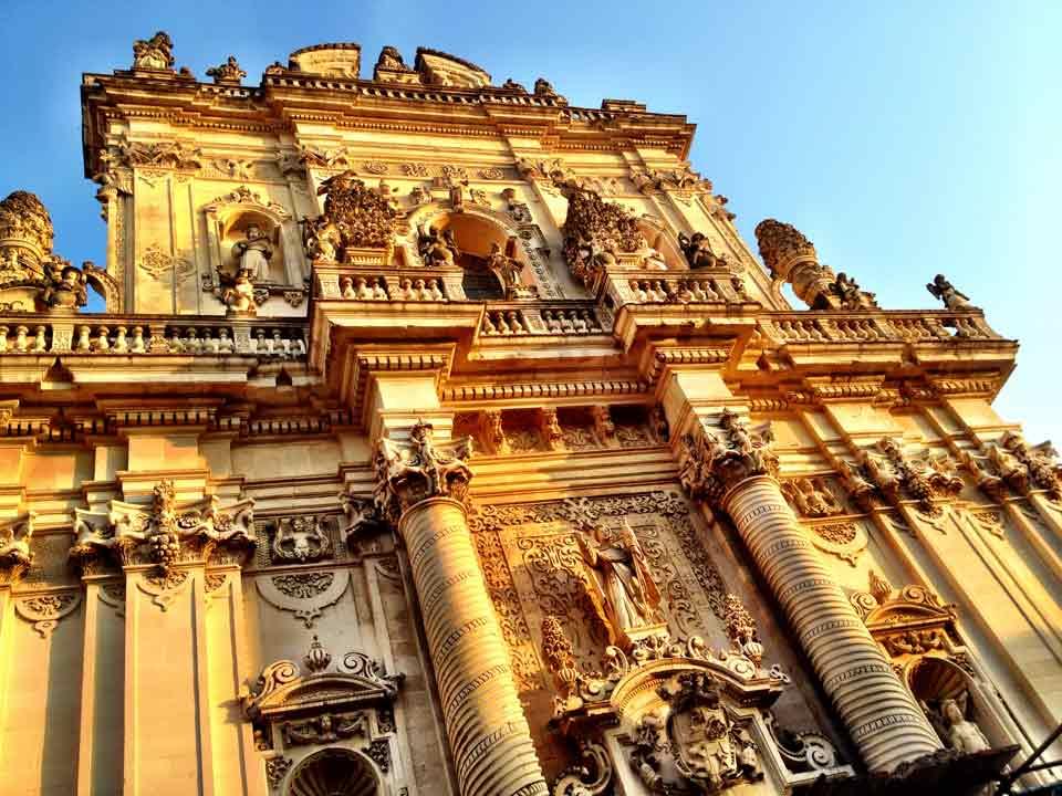 Baroque architecture is rampant in Lecce
