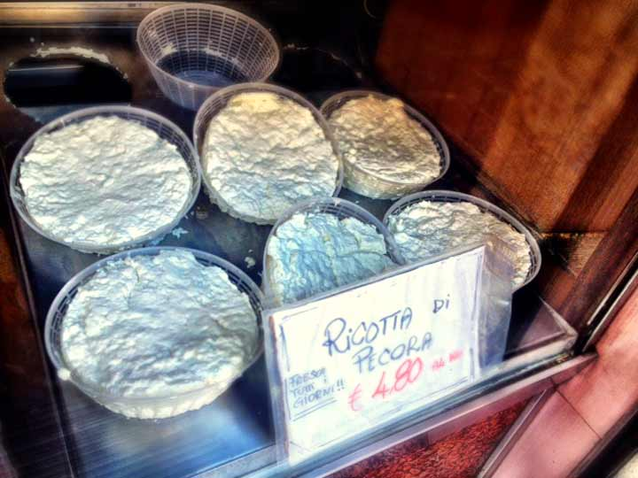Ricotta di Pecora - fresh sheep's milk ricotta