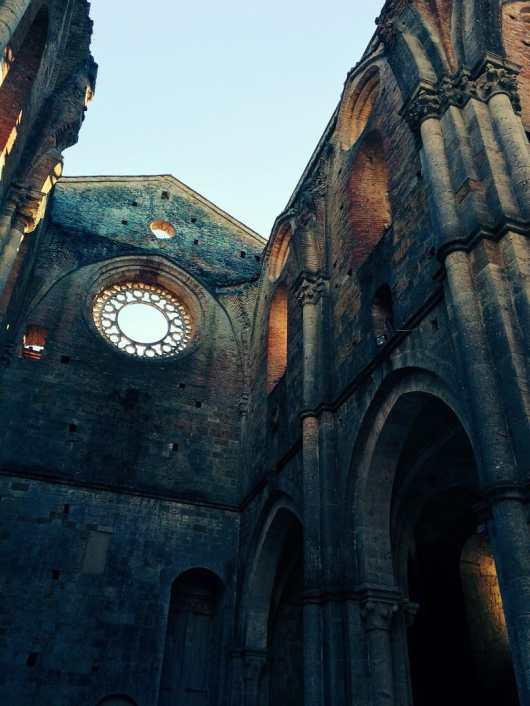 San Galgano, Rosone