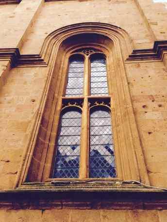 Pienza, Finestra del Duomo