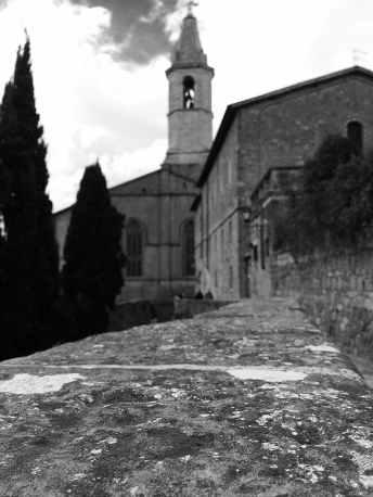 Pienza, la suggestiva Via del Casello