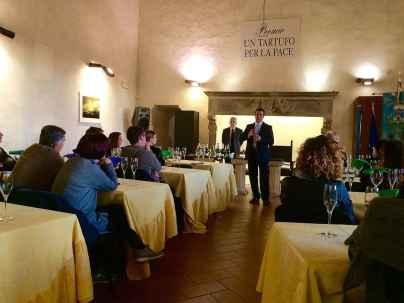 San Giovanni d'Asso, Degustazione Tartufo Marzuolo e Spumante
