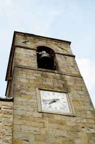 Campanile della chiesa centrale di Moggiona