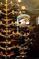 Un dettaglio dei reliquiari dell'Albero d'Oro di Lucignano