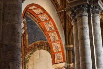 Pienza, il suggestivo interno della Cattedrale