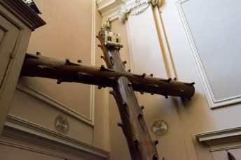 Croce della processione del venerdì santo, città della pieve