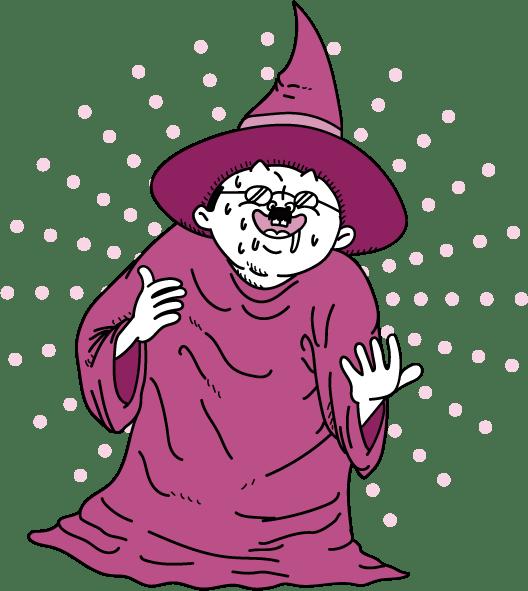 どこかで見たことのある魔女