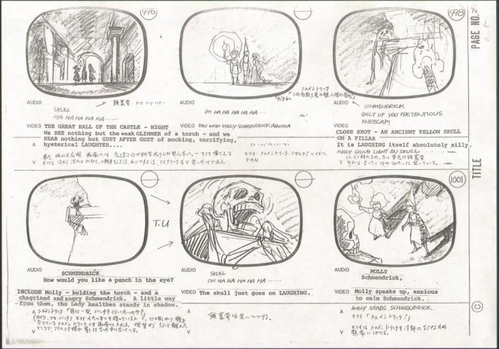 Last Unicorn Storyboard