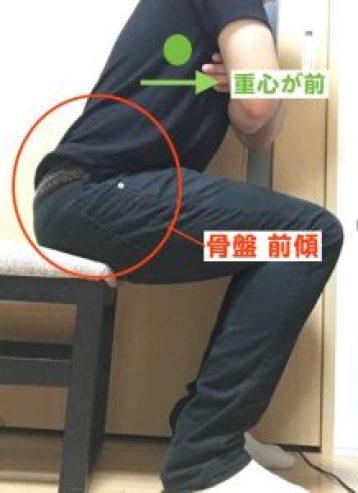 坐位 骨盤前傾-min