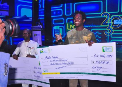 Jude Idada wins NLNG 2019 prize for literature