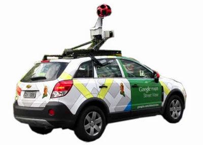Resultado de imagem para carro do google maps