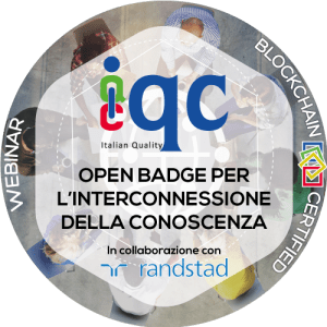open badge iqc randstad