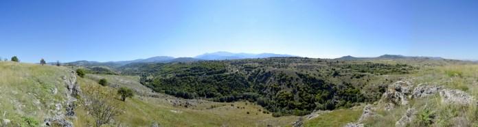 Поглед од Тврдината Пешта