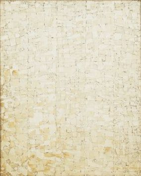 Chung Sang Hwa Untitled, 1974 Acrylique sur toile 64,5 x 52,5 cm