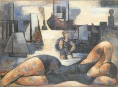 Marcel Gromaire, Plage Bleue