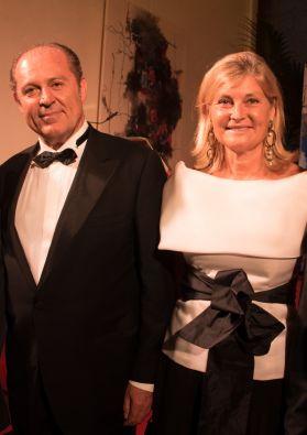Philippe Donnet et son épouse Hélène Molinari