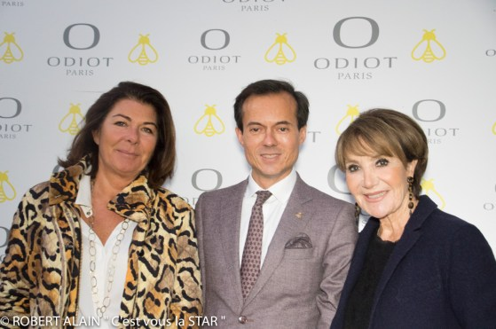 Christine Faure, Stéphane Ruffier Meray et Yaguel Didier