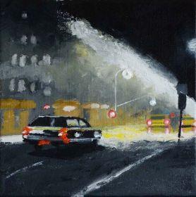 Eric Turlot Huile sur toile 20 cm x 20 cm