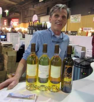 Thierry Bousquet, vigneron du Clos Bengueres, vin biologique du Jurançon