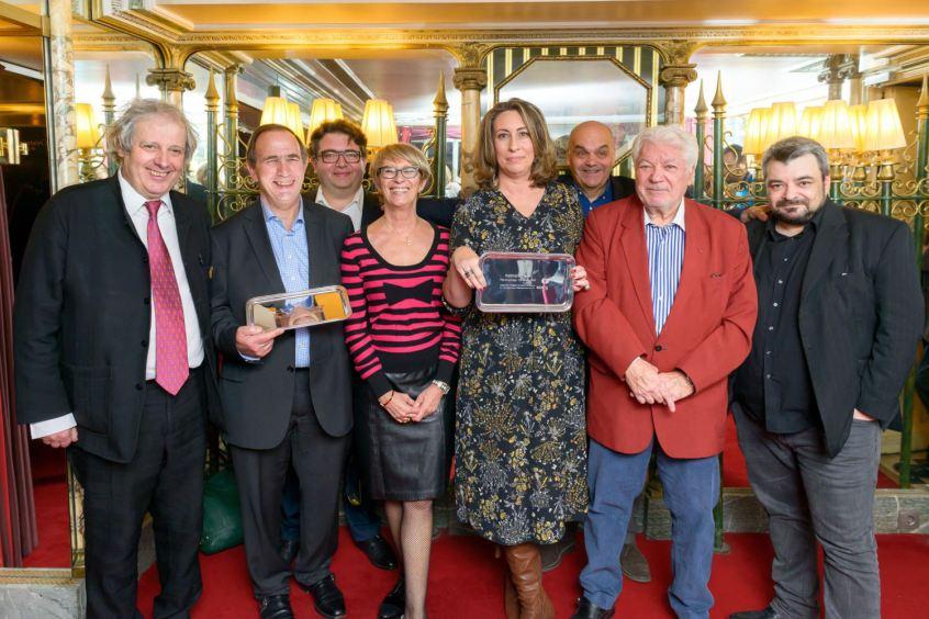 (de gauche à droite) : Patrick Fracheboud, Bernard Burtschy, Remi Dechambre, Claire Delbos, Nathalie Helal, Jacques Vivet, Jean-Claude Mariani, Manuel Mariani