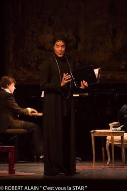 Fabrice di Falco dans les Amants de Nohant au théâtre du Ranelagh