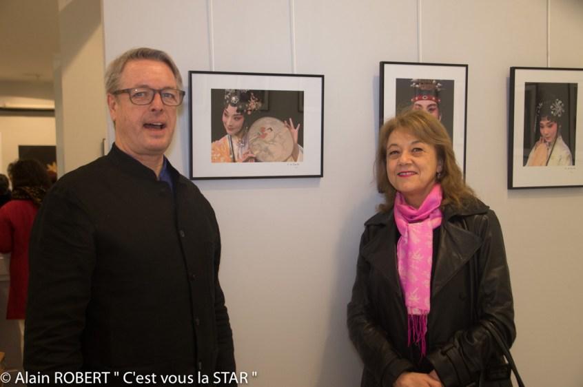Grégoire de Gaulle et Véronique Grange-Spahis