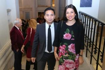 LL.AA.RR. le Prince et la Princesse Ravichak Norodom